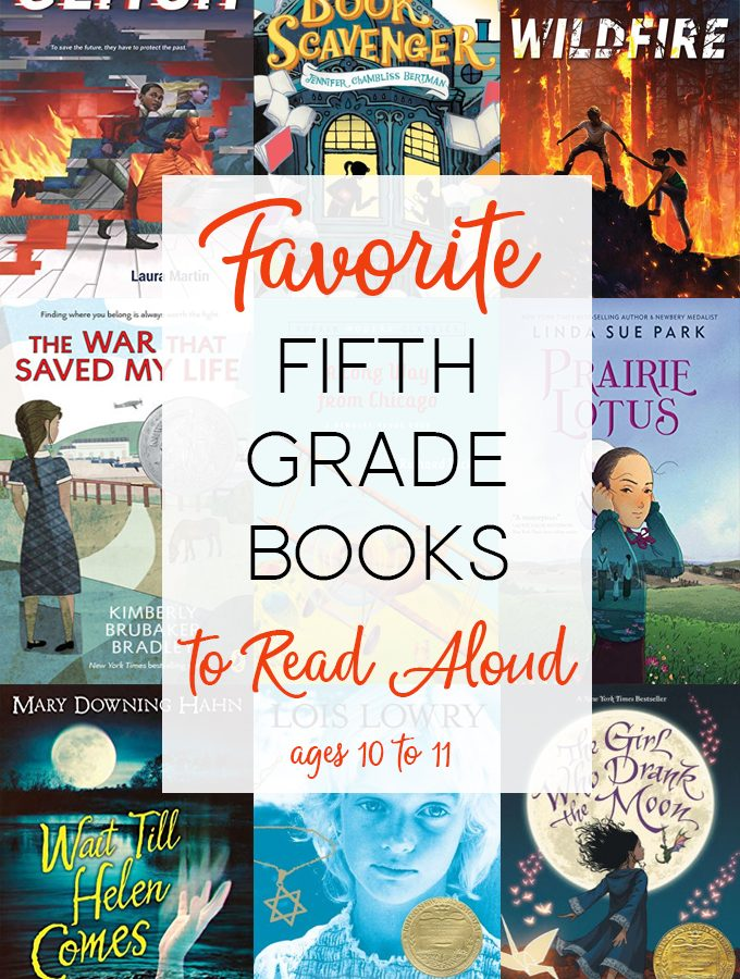 Read Aloud Books for Fifth Grade