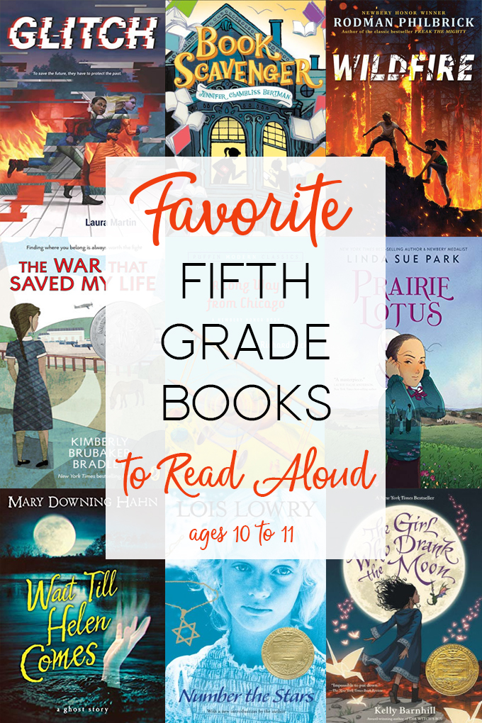 Fifth Grade books to Read Aloud