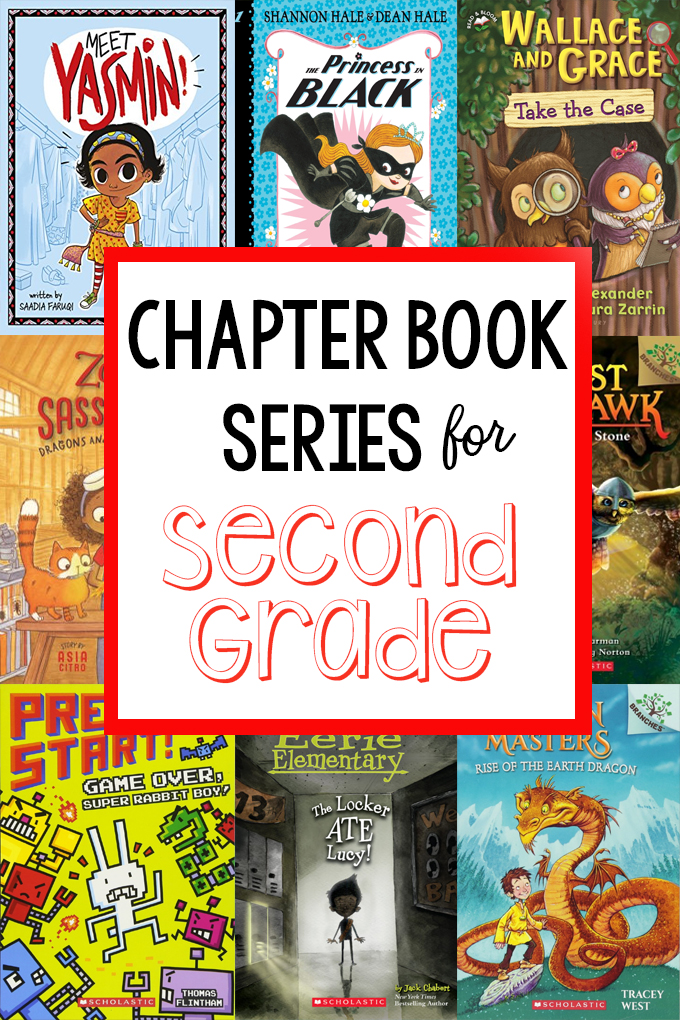 Chapter Book Series for Second Graders