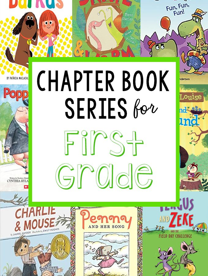 Favorite Chapter Book Series for First Graders