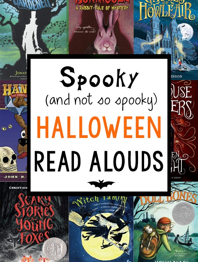 Halloween Read Alouds: Spooky and Not So Spooky