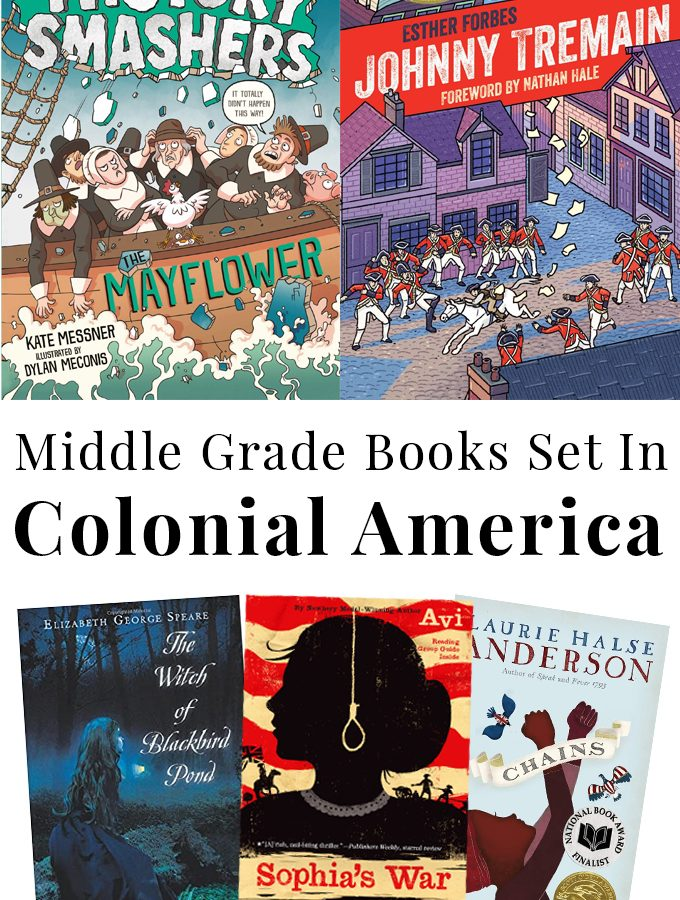 Middle Grade Books Set in Colonial America