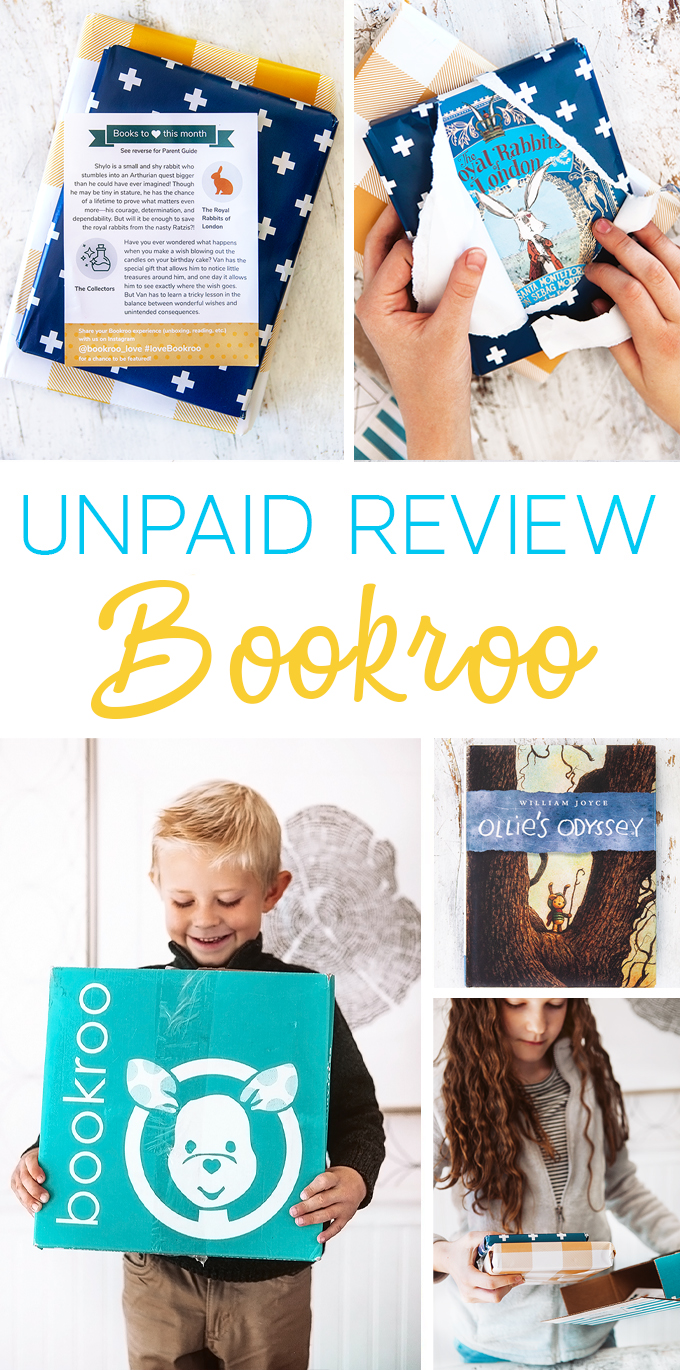 unpaid review of bookroo