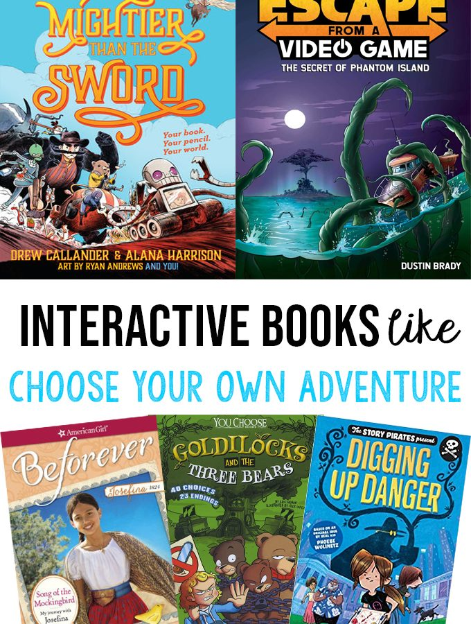 Books Like Choose Your Own Adventure