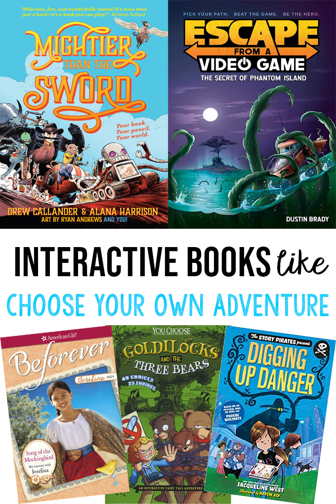 Books Like Choose Your Own ADventure Books