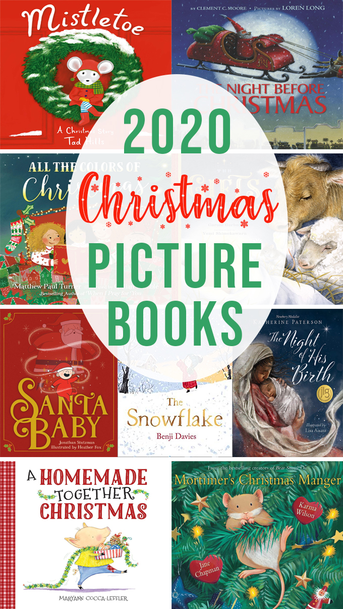Old and New Christmas Picture Books 2020