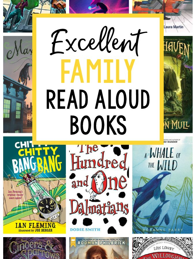 All the Read Aloud Books We Read in 2020