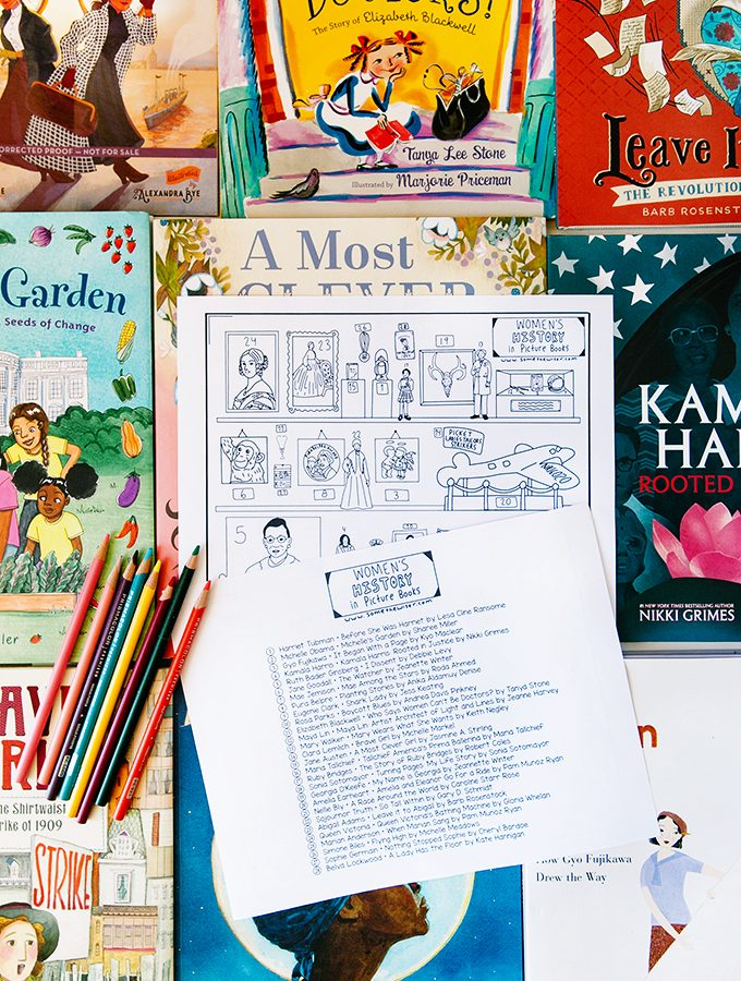 Women's History Month Printable Resource for Kids and Adults