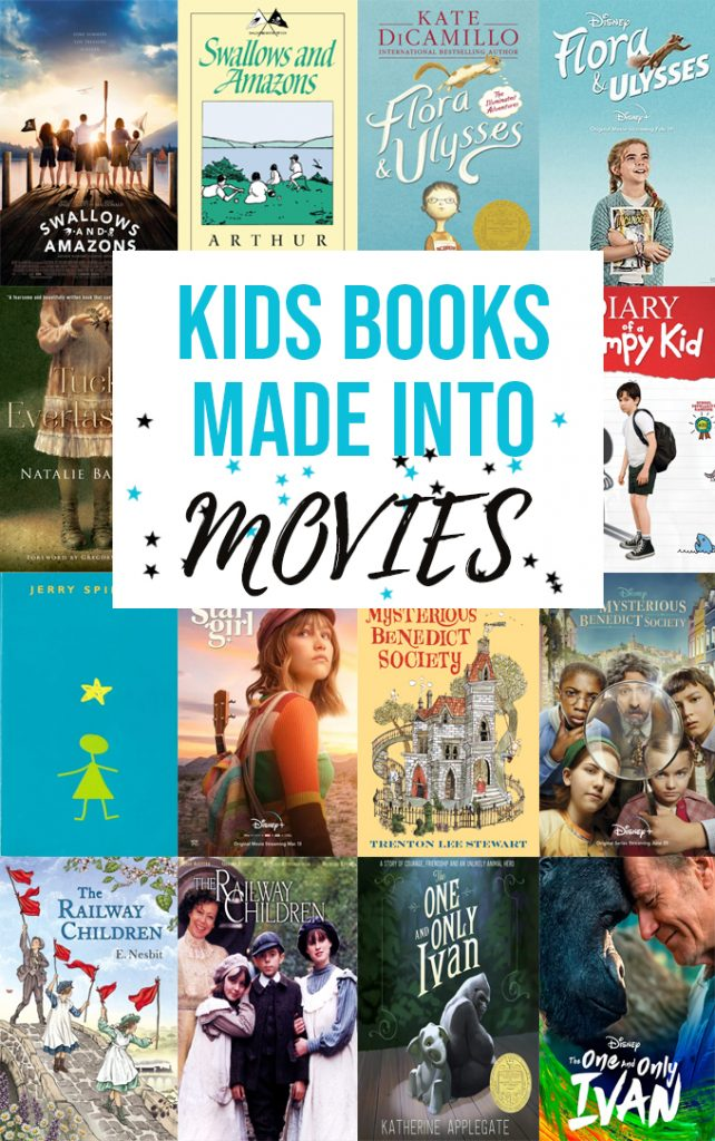Kids Books Made Into Movies
