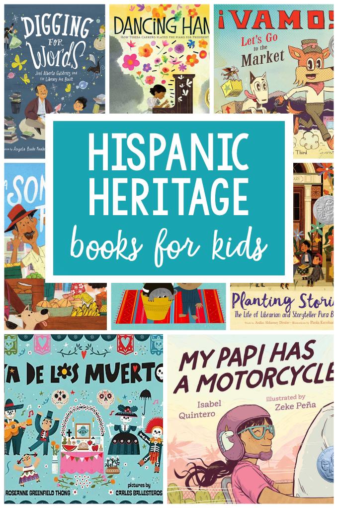 Children's Books for Hispanic Heritage Month