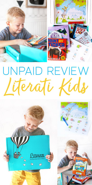 Unpaid Review of Literati Kids Book Club