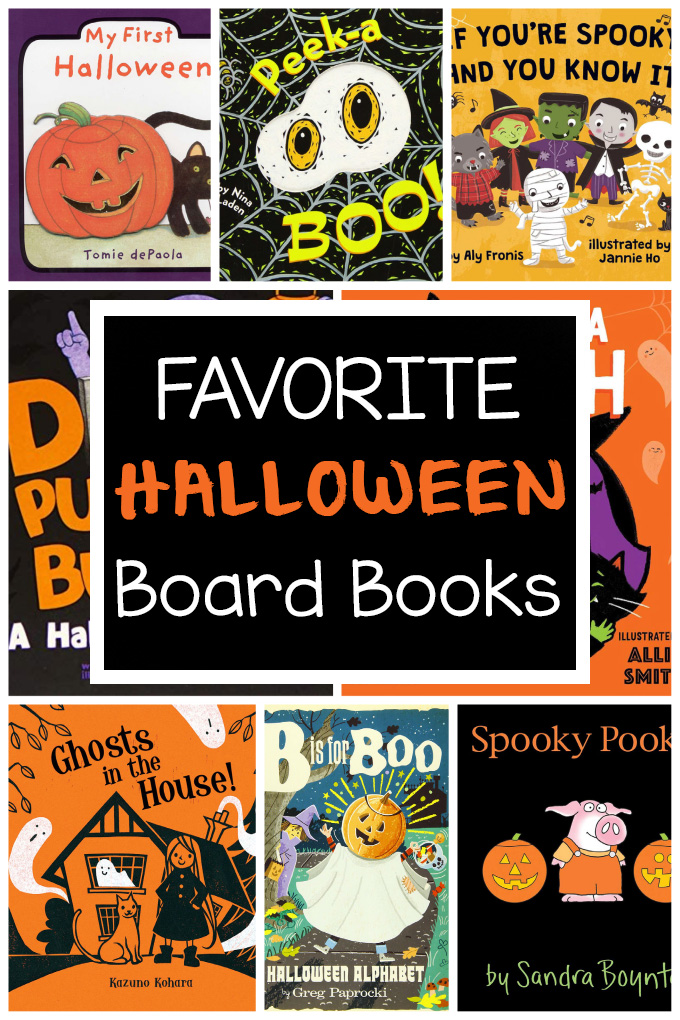 Halloween Board Books